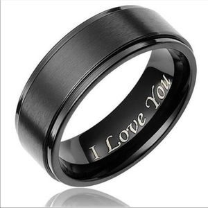 Other - Titanium I LOVE YOU ring.